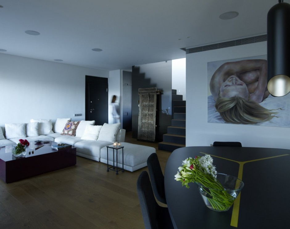 modern house interior design by space lab