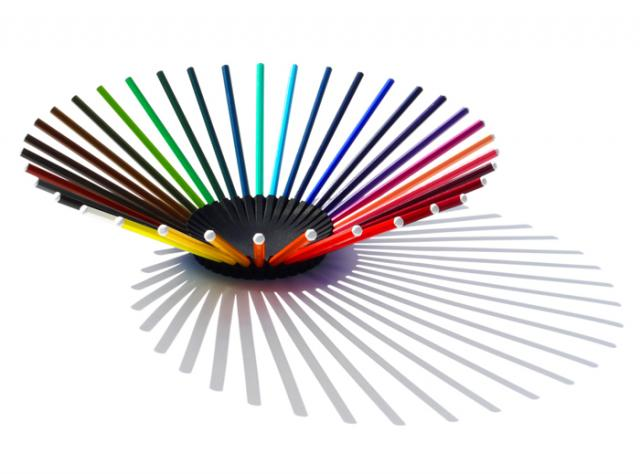 colorful pencil bowl diy ideas