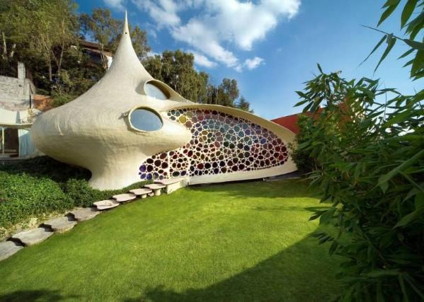 nautilus shell house Javier Senosiain