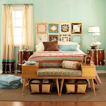 20 vintage bedrooms inspiring ideas decoholic for Bedroom inspiration vintage