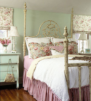 Charmant Vintage Bedrooms 4 Decorating Ideas